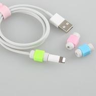 สายเคเบิลUSB Protectorสายหูฟังสายไฟสายชาร์จข้อมูลสำหรับApple Iphone 6 7 8 Plus