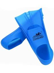 兒童蛙鞋 硅膠短腳蹼男成人兒童自由泳訓練蝶泳蛙鞋游泳浮潛裝備女專業潛水JD BBJH