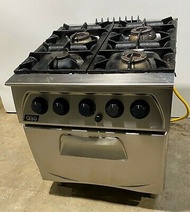 brand new gas range 4 burner with oven