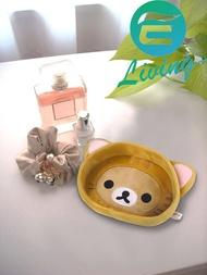 日本 MEIHO Rilakkuma 拉拉熊 貓咪造型 收納置物盤 RK-245