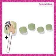 Dashing Diva - Magic Press MDR1012P 療癒系嫩葉 (足部超薄甲片) 加配 品牌指甲銼
