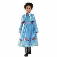 ANNA S. ins 冰雪奇緣2 安娜 洋裝 公主裝 裙子 卡通 FROZEN2 ANNA 女童 萬聖節 聖誕節 艾莎 ELSA