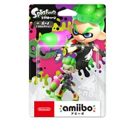 任天堂 AMIIBO NFC SWITCH NS 漆彈大作戰2 綠色男孩 SPLATOON 2 INKLING BOY
