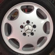 賓士 原廠16吋鋁圈含胎 Benz W201 W202 W203 W124 W208 W210 W211 W140SLK