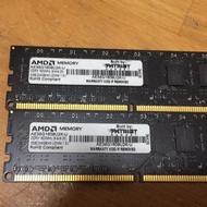 Patriot ddr3 1600 8g記憶體