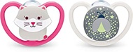 NUK Space Orthodontic Pacifiers, 18-36 Months, 2 Pack