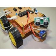 【PASS】8051單晶片專題製作 超音波避障自走車!!!全新推出!!!