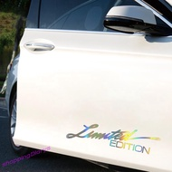 ☺  LIMITED EDITION Car Sticker Decal Reflective Vinyl Auto Styling Sticker