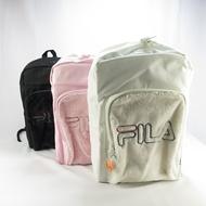 FILA 雙拉鍊 雙肩後背包 柔毛造型  FM2112- 三色 日本代購【iSport代購】