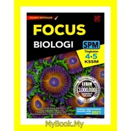 *BARU 2021* MyB Buku Rujukan/Nota : Focus SPM KSSM Tingkatan 4&5 - Biologi (Pelangi)