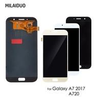 適用於三星 Galaxy A7 2017 A720 SM- A720F A720M TFT 螢幕總成 (可調亮度)