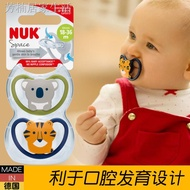 Germany Nuk Newborn Hollow Soothie Pacifier Breast Baby Sleeping Soothie Pacifier 0 - 6 - 18 - 36 Months
