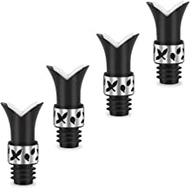 4pc Wine Stoppers & Pourers Reusable Wine Saver