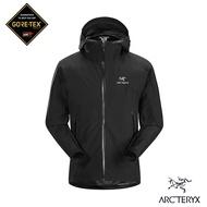 【Arcteryx 始祖鳥】男 GORE-TEX Zeta SL 防水外套(黑)