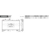 日本 KOYORAD 全鋁 水箱 適用-SUBARU 速霸陸 FORESTER XT SJ JK輪胎館