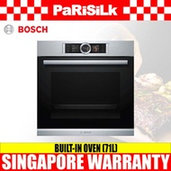 Bosch HBG656RS1B Built-in Oven (71L)