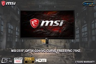 MSI 23.6 Optix G241VC CURVE FreeSync 75Hz
