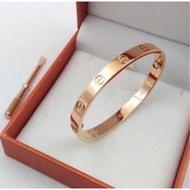 Cartier 卡地亞 LOVE 經典情侶手環