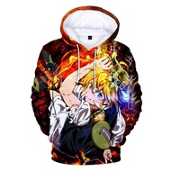 Men/autumn Casual Hoodies Anime 3d Hoodies Kawaii Sweatshirts Hoodies