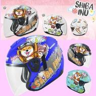 【M2R】安全帽 FR-1 #12 柴犬 彩繪3/4罩