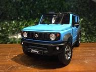 1/18 LCD Models Suzuki Jimny Sierra (JB74) LCD18004BL【MGM】