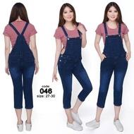 Ready stok Overall Jeans Pria termurah DricoJeans baju kodok overall