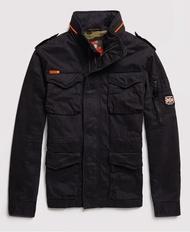 跩狗嚴選 代購 極度乾燥 Superdry 軍裝外套 Rookie M65 重磅純棉 加厚 黑 暗黑 夾克
