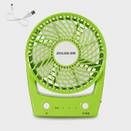 USB Handheld Portable Fan Mini Desktop Fan Portable Fan for Home Office Car Outdoor Travel Green 3 Speeds