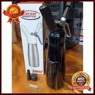 ขวดวิปครีม 0.5 ลิตร (สีดำ) อุปกรณ์ทำกาแฟ ทำกาแฟ เครื่องชงกาแฟ กาแฟคั่วบด กาแฟสด