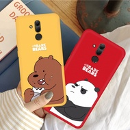 Cartoon We Bare Bears Painted Silicone Case For OPPO R17 Pro R11 R11S F1 F3 Plus R15 R7S Soft TPU Cover