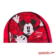 【SPEEDO】兒童合成泳帽 Pace(米奇)