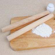 【BCF】 bigsm Wood Rolling Pin Bread Flour Dough Traditional Non Stick Roller Luxury
