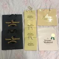 Vivienne westwood VW 飾品 紙袋 禮品 禮物 名牌精品專櫃