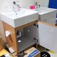 ToTo L710CGUR專用的浴櫃 木紋發泡板