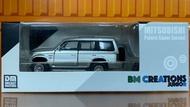 ☆勳寶玩具舖【現貨】BM Creations 023 1/64 Mitsubishi Gen Pajero 白色線條 右駕