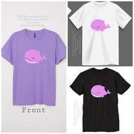 BTS TinyTan Purple Whale (Dream ON) T-Shirt