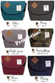 PROMO! Anello Messenger Bag/Sling Bag/Small Bag/Red/Blue/Grey/Black Local Seller Fast Shipping