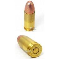 < WLder > 貝瑞塔 9mm 裝飾彈 一盒(M9 M92 915操作槍道具槍火藥槍仿真槍道具彈金牛座空包彈彈殼彈頭90子彈G17G27