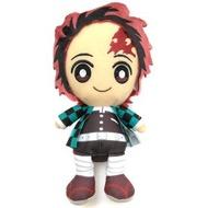 大賀屋 日貨 鬼滅之刃 炭治郎娃娃 裝飾 公仔 擺飾 模型 小娃娃 玩偶  玩具  竈門炭治郎 正版 J00019848