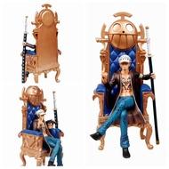 ☆海賊咖☆ 海賊王 GK 羅 王椅 托拉法爾加羅 指揮 伽馬刀 多佛朗明哥 超新星 戰鬥場景 ROOM