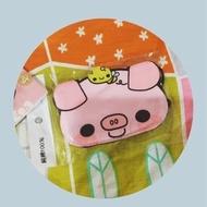可愛兒童純棉口罩~嬰幼兒100%純棉 粉紅豬小蜜蜂 造型 過濾髒空氣 過敏 空汙 舒適彈性