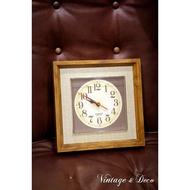 美國帶回老時鐘 數字時鐘 [CLOCK-0064] 復古鐘 老時鐘 桌面時鐘 道具租借 電池時鐘
