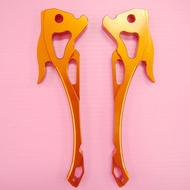 蘋果 KISS 專用拉桿 手拉桿 拉桿 CNC鋁合金拉桿 S MAX S-MAX SMAX155 FORCE 雙碟 橘色