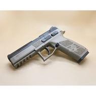 < WLder > KJ CZ P09 DUTY 瓦斯槍 沙(BB槍BB彈玩具槍短槍模型槍CO2直壓槍手槍二戰KJ P-09 CZ75