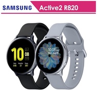 【SAMSUNG 三星】Galaxy Watch Active2 鋁44mm智慧手錶手錶 SM-R820(送原廠錶帶+玻璃保貼)