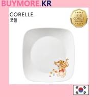💛[CORELLE]Disney Winnie the Pooh Square plate corelle plates, corelle bowls corelle tableware