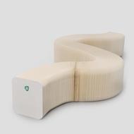積木家-紙 藝術創意折疊風琴凳設計換鞋凳時尚變形極美家具休閑凳