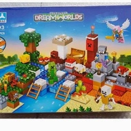 ♟P8699✼ Lego Minecraft Treasure Island & Village Farm House My World 5403 Jumbo ♗