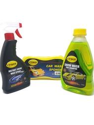 【BUNDLE DEAL W/ FREE GIFT】Cyber Snow Wash Car Shampoo + Instant Shine Wax Spray