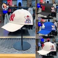 MLB帽子 2019新款棒球帽 小豬本命年刺繡帽 男/女同款NY鴨舌帽 洋基帽